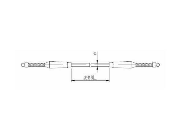 JHK01双端引出型铠装式电热元件